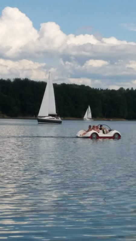 Malwa (Lato, jezioro łódki)